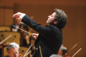 Gustavo Dudamel with the LA Philharmonic